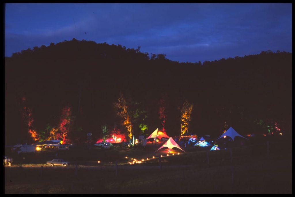 Dawning Festival 2000 at Byron bay