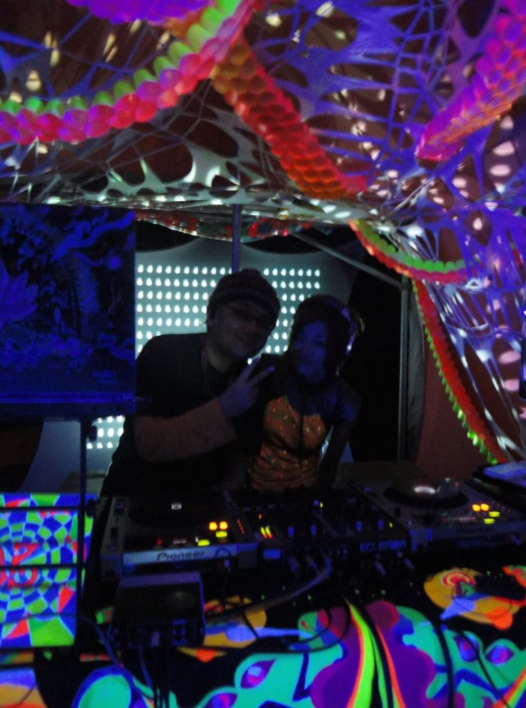 Mandala Vision Festival ( Japan ) 2013 / Supercozi DJ set