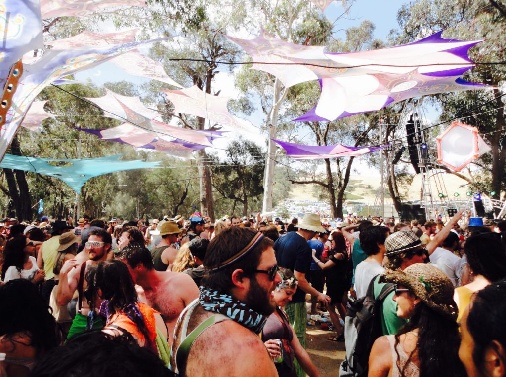 Rainbow Serpent Festival ( Australia ) 2012
