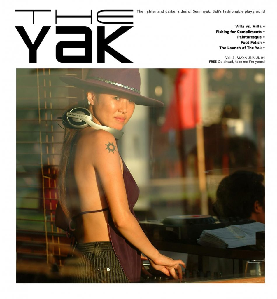 The Yak Magazine Vol. 3 Cover 2004