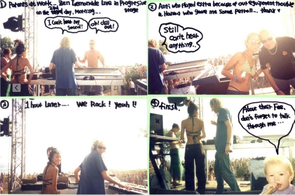 Zen Lemonade live at Samothraki-Dance-Festival-2002